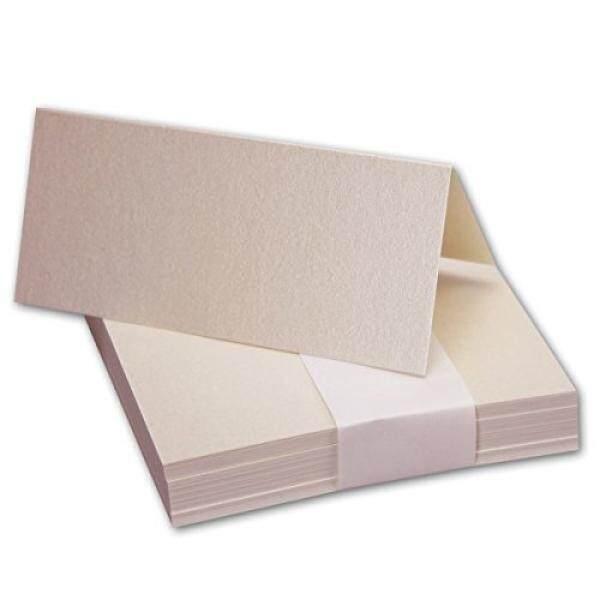 50x Tischkarten Di Quarz-Rosa-Perlmutt//Größe: 100x90mm//240g/m² Sehr Schwere Und Stabile Qualität//Aus Der Serie FarbenFroh Von NEUSER! -Intl
