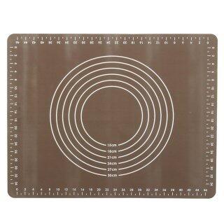Thảm Nhào Bột Silicon Đa Năng 50X40Cm, Cuộn Không Dính thumbnail