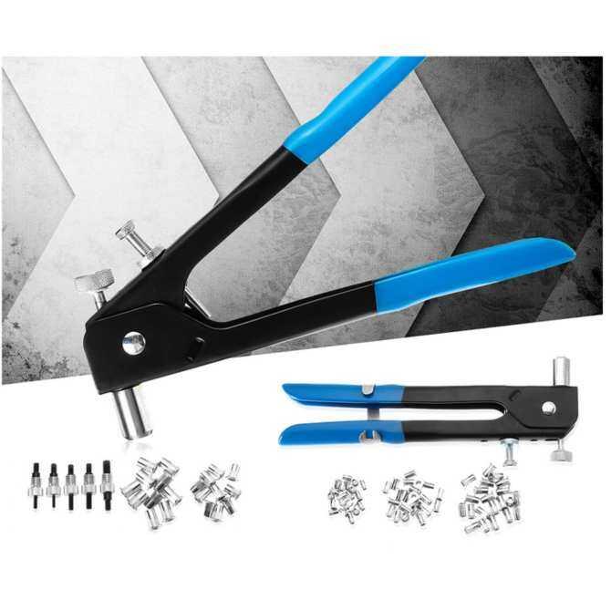 Electric Rivet Gun Tool Nut Riveting Insert Hand Pop Drill Cordless Heavy  Duty