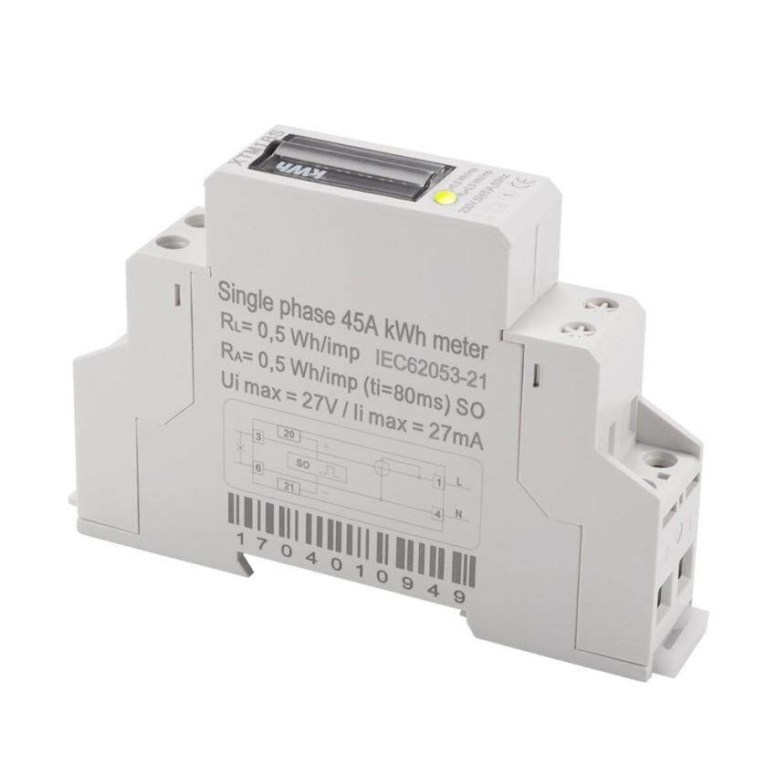 5(45)A 230V 50Hz Energy Meter Electricity Single Phase Din .
