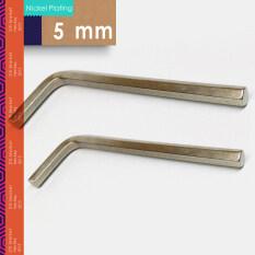 5mm hex key , 20pcs , DIN911 Hex key , Allen key hand tools , m5 nickel plating , China fasteners Manufactuer