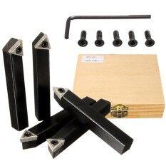5 Chiếc 1/2 Inch Vỏ Máy Tiện Dụng Cụ Xoay Giá Đỡ Tcmt 32.52 Indexable Carbide Miếng Lót