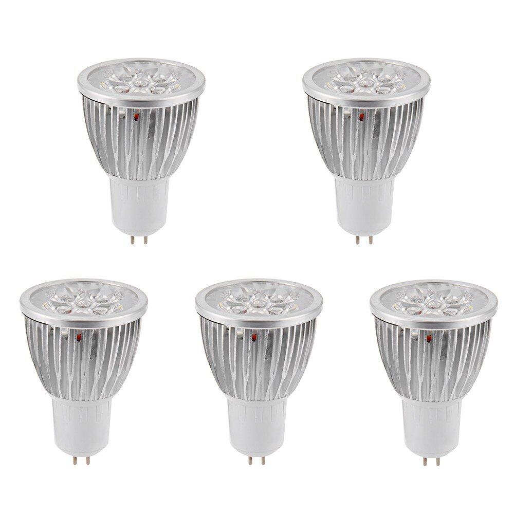 5PCS 15W 110V GU5.3 Dimmable Warm White LED Spotlight Bulb 30 Degree Beam Angle Lamp for Home Pendant Lighting - intl