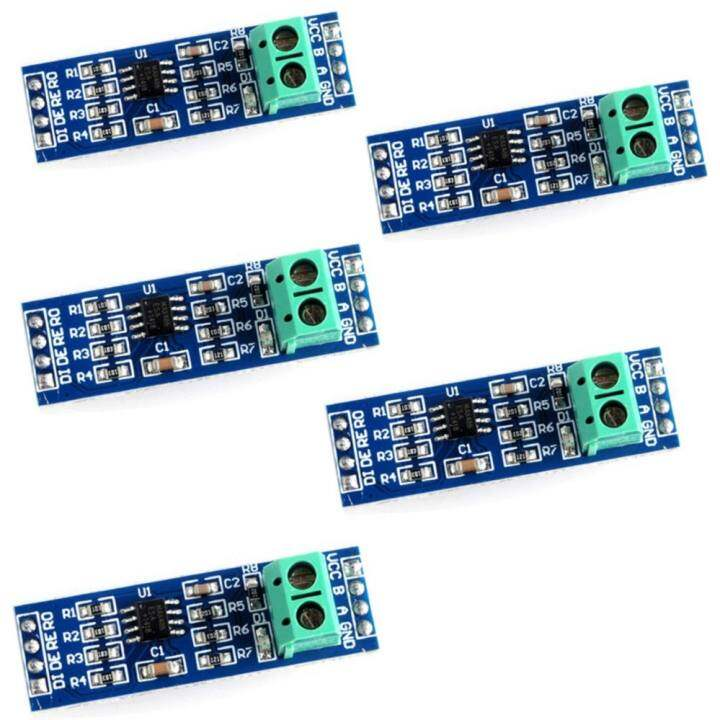 5PCS MAX485 RS-485 Module TTL to RS-485 module for Arduino Raspberry pi  46(mm)x12(mm)