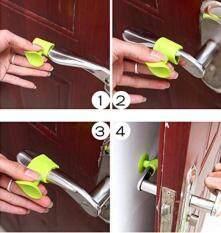 5pcs Silicone Anti Collision Baby Door Handle Crash Pad Wall Protectors Rubber Stopper