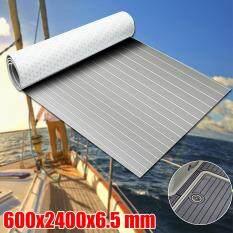600x2400x6.5mm Marine Flooring Faux Teak EVA Foam Boat Decking Sheet