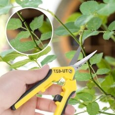 6.5Gardening Hand Pruner Pruning Shear Functional Cutter with Straight Stainless Steel Blades