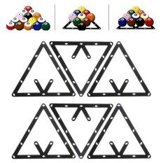 6pcs 8 9 Or 10 Ball Magic Rack Positioning Billiard Pool Cue Accessory Black By Elec Mall.