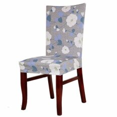 6PCs Spandex Stretch Dining Room Wedding Banquet Chair Seat Cover Decor Slipcover Ocean