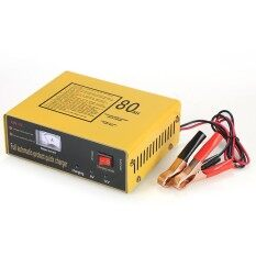 6V/12V 80AH Intelligent Automatic   Charger Pulse Repair Type Maintainer for Lead Acid   and Lithium   120W AC110V-250V