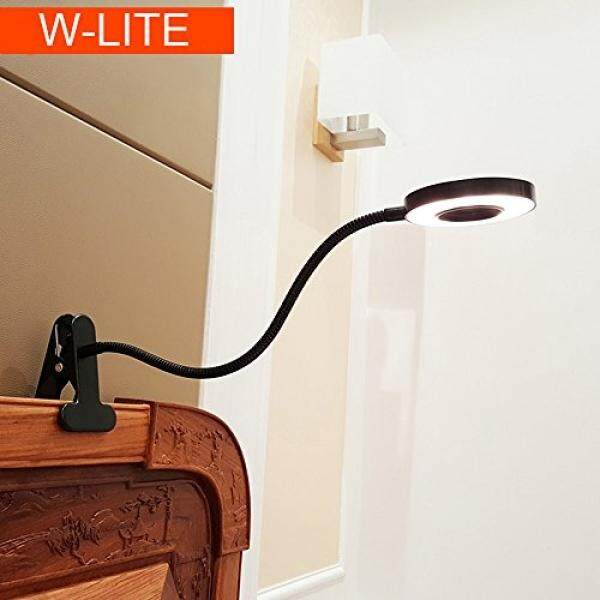 6w Led Usb Dimmable Clip On Reading Light Laptop Lamp For Book Piano