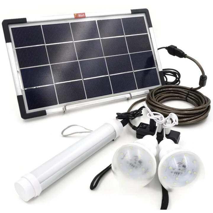 Solar Lights Lazada: 6W USB Solar Panel DIY Solar Power Lighting Kit