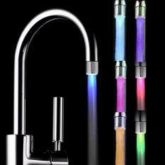 7 Colors Glow Water Faucet Light for Bathroom Kitchen UK