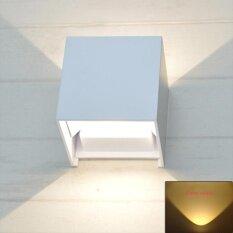 Promo 7 Watt Led Outdoor Waterpoof Wall Light Warm Light