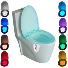 8 Colors Activated UV Sterilization Toilet Light Inside Toilet/ Toilet Night Light LED Light Up Toilet Seat Bathroom Lamp for Any Toilet by LuckyG Philippines