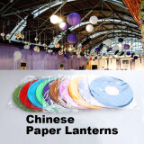 8 Inch Round Chinese Paper Lanterns Lamp Wedding Party Xmas Event Decor