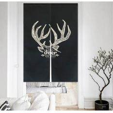 85x120cm Nordic Style Polyester Door Curtain Bathroom Kitchen Partition Curtains Bedroom Hanging Room Dividers & Screens