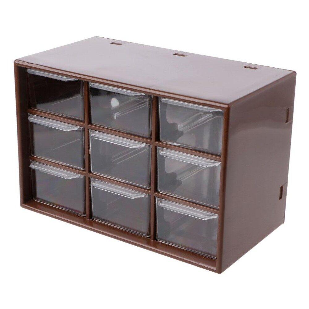9 Drawer Plastic Storage Cabinet