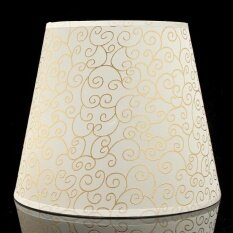 9 Flower Fabric Lampshade Table Desk Bed Lamp Shade Bulb Light Cover Holder