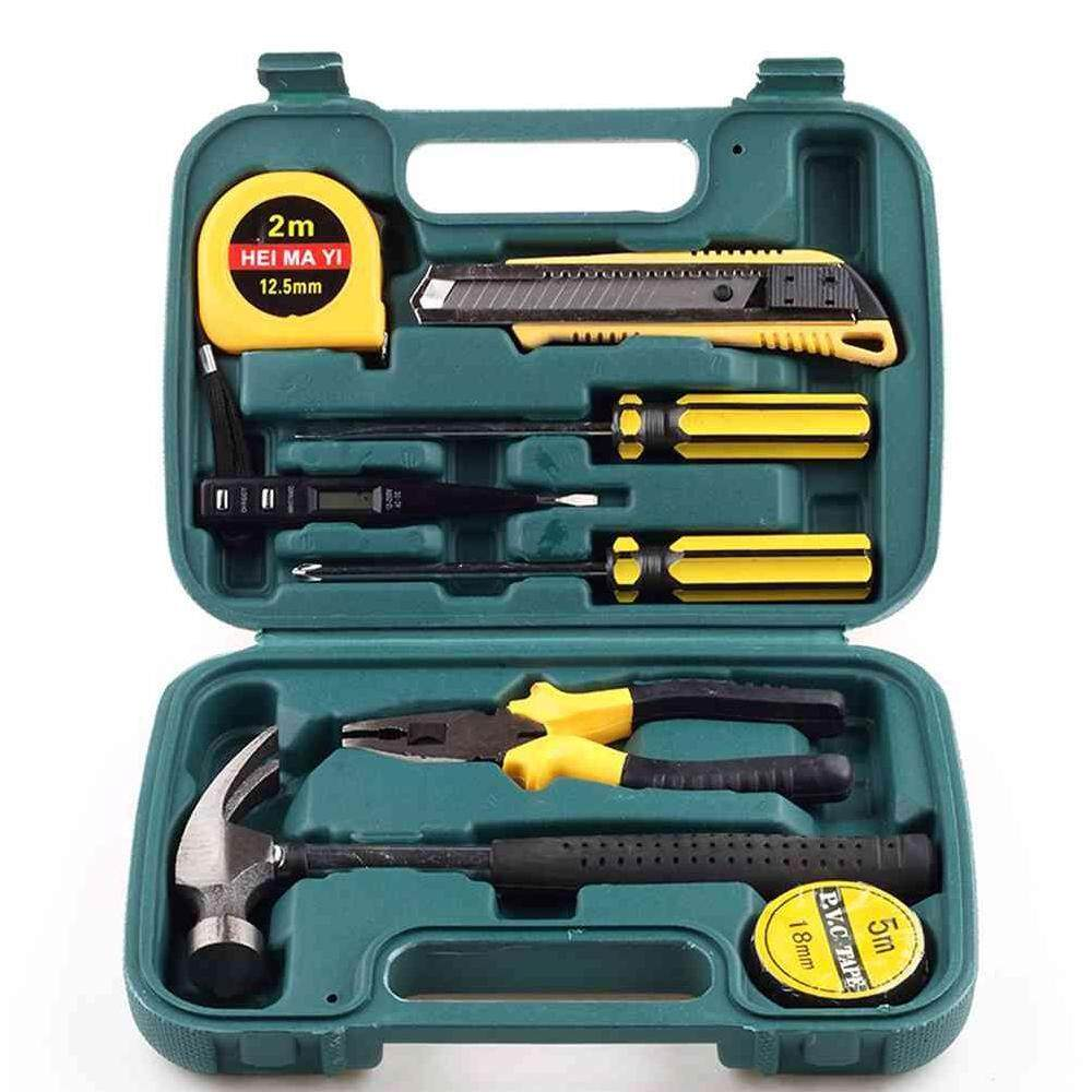 Where To Buy 9 In 1 Tool Kit W Box Screwdriver Pliers Repair Mixed Tool Sets For Car Home Use Intl