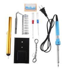9pcs 220V 40W Portable Constant Temperature Electric Soldering Iron Welding Kit
