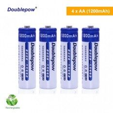 PRADO Malaysia DP-AA1200 mAh NiMH Rechargeable Battery 4pcs