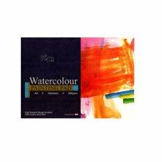 A4 - 12s Watercolor Paper Pad (100% Cotton Cold Pressed, 200 Gsm) By Scrap N Crop.
