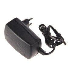 AC 100-240V Converter Adapter DC 5.5 x 2.5MM 12V 2A 2000mA ChargerEU Plug (Black)