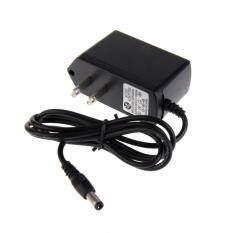 trustinyou AC 100 240V to DC 12V 1A Converter Power Supply Adapter with US Plug (Black)