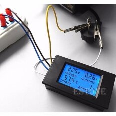 AC 80-260V LCD 20A Volt Digital Watt Power Meter Ammeter Voltmeter Hot