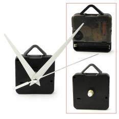 AC DIY Repair Parts Quartz Clock replacement Movement Mechanism Black + time Hands