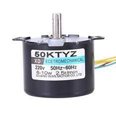 epayst AC220V 10W 0.5A Permanent Magnet Synchronous Motor CW/CCW 2.5r/min