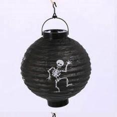 Acelit Halloween Paper Lantern Flash Light Garden Party Decor Decoration Pumpkin Ghost