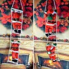 Acelit Pendant Christmas Decor Hanging Climbing Rope Santa Claus Xmas Ornament