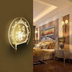 Acrylic Love LED With Wire Wall Mount Cabinet Lamp Led Art Lamp Gift Home Decor