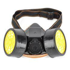 Activated Carbon Double Chemical Gas Respirator Dust Filter Mask
