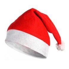 Allwin Topi Natal Sangat Lembut Tebal Mewah Topi Liburan Kostum Sinterklas