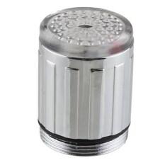Air Dalam Waktu Yang Singkat And Shower Pentil Cahaya LED Lampu Sensor Suhu 3 Warnd RGB