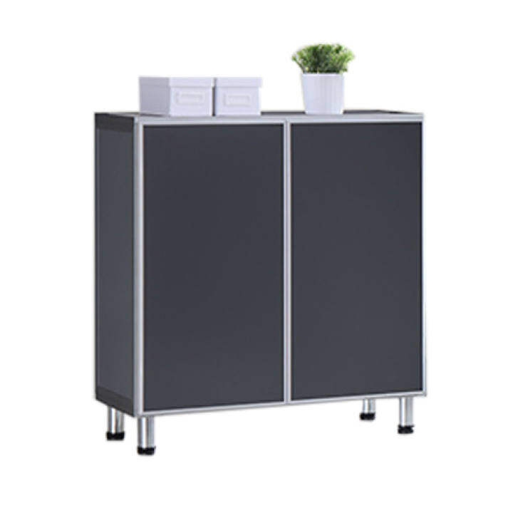 Aluminium Shoes Cabinet Grey Door Panel Lazada