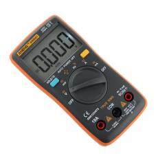 AN8001 Meteran Digital LCD Multimeter Voltmeter Ammeter AC DC Ohm Tester Panas