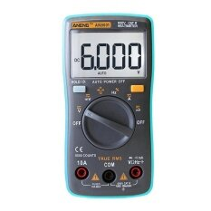 ANENG  AN8001 Portable Digital Multimeter 6000Counts Backlight AC/DC Ammeter(Black)