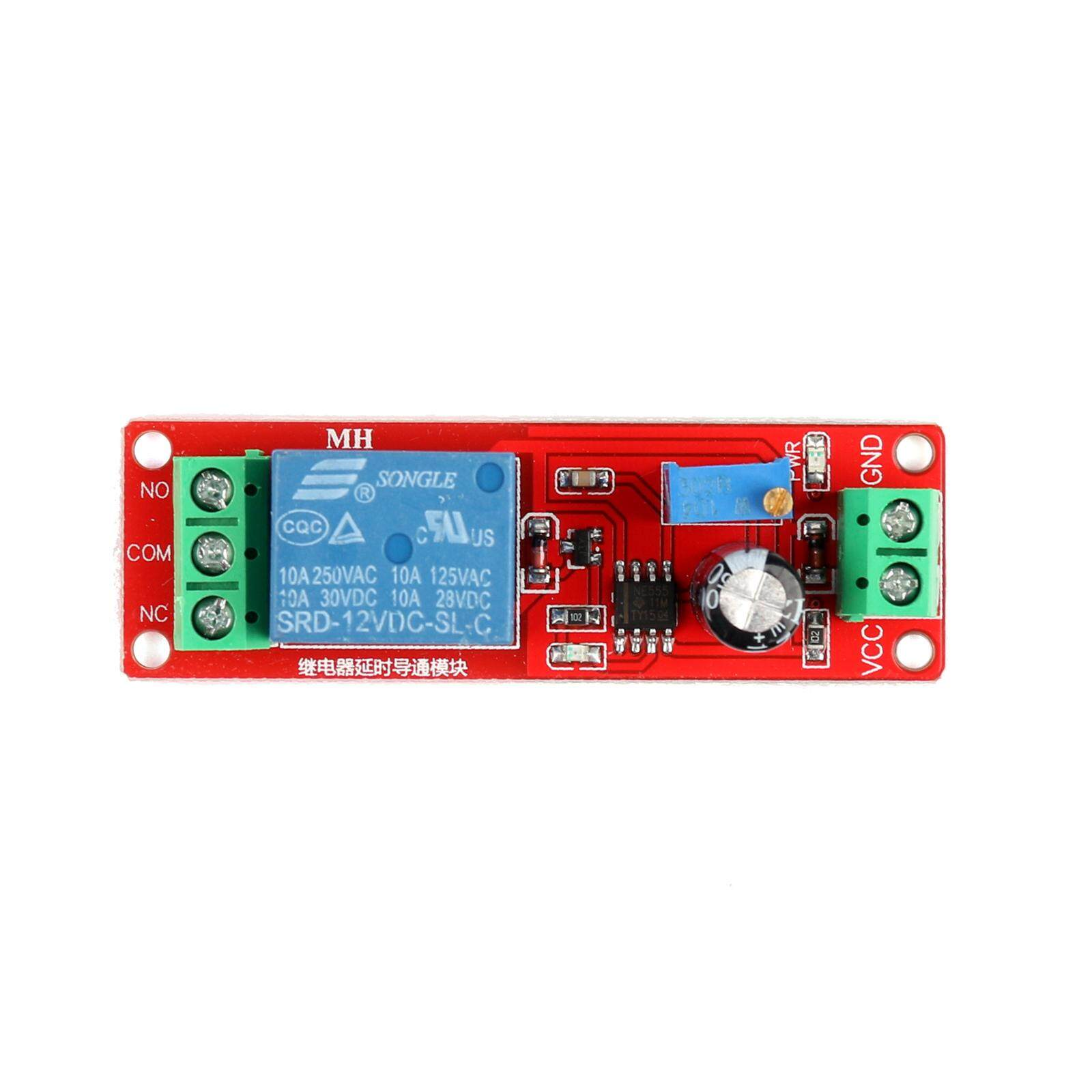 Buy Sell Cheapest Yeeco Dc 0 Best Quality Product Deals 1pcs 12v Delay Relay Turn On Off Switch Module Areyourshop Shield Ne555 Timer Adjustable To 10