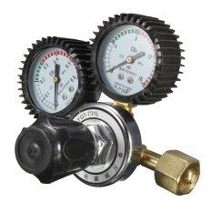 Argon Double CO2 Pressure Reducer Tig Flow Control Valve Gauge Welding Regulator