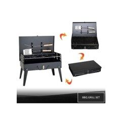 Barbecue Grill Broiler - Household BBQ, Picnic, Camping, Party