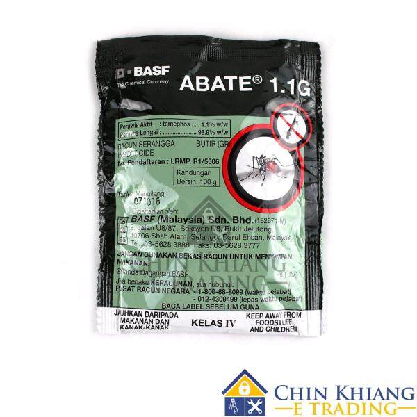 BASF B1100 Abate 1.1G Aedes Mosquito Larvae Killer 1 x 100g