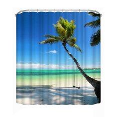 Bathroom Shower Curtain Decoration Waterproof Print180200cm