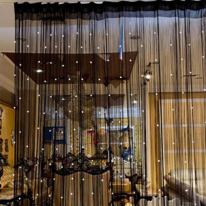 Beaded Crystal String Door Window Curtain Divider Beads