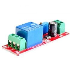 Beautymaker 12V Delay Adjustable Timer Relay Switch Module 0 To 10 Second with NE555 Oscillator