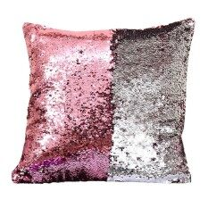 Bigood Occident Pillow Case Double Sequin Mermaid Bright Color Pillow Cover Throw Cushion Case 40x40cm Aa By Bigood Online.