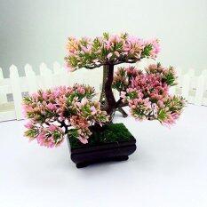 Fangfang Menyambut Pine Bonsai Meniru Simulasi Dekoratif Buatan Palsu Bunga  Hijau Tanaman Pot Ornamen Home Decor a8e23a617e